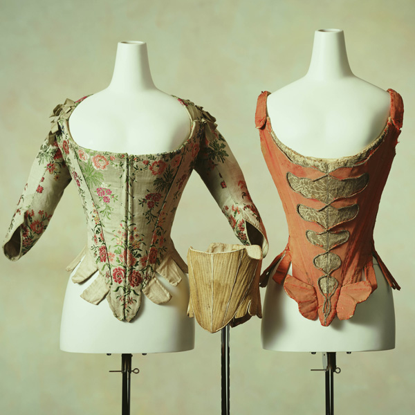 Corset [Left] Child's Corset [Center] Corset [Right]