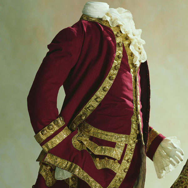 Man's Suit (coat, waistcoat, and breeches)
