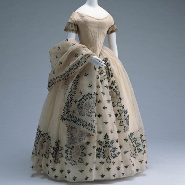 1800'S Evening Dress