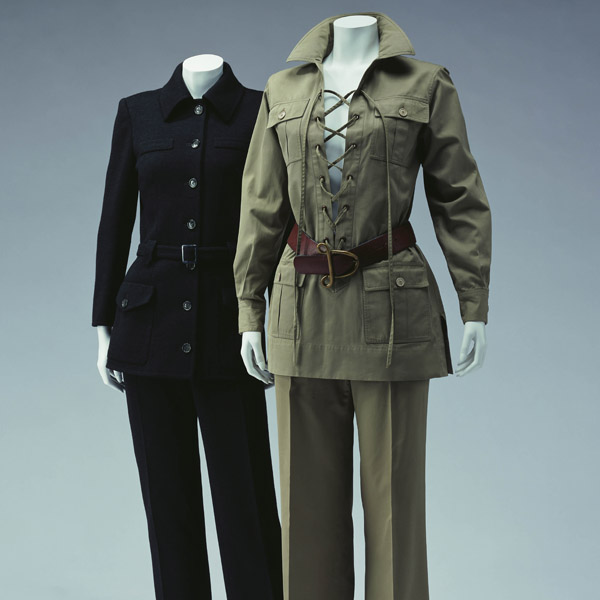 "Pantsuit ""City Pants"" [Left] Safari Suit [Right]"