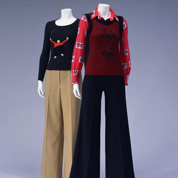 Sweater [Left] Blouse and Vest [Right]