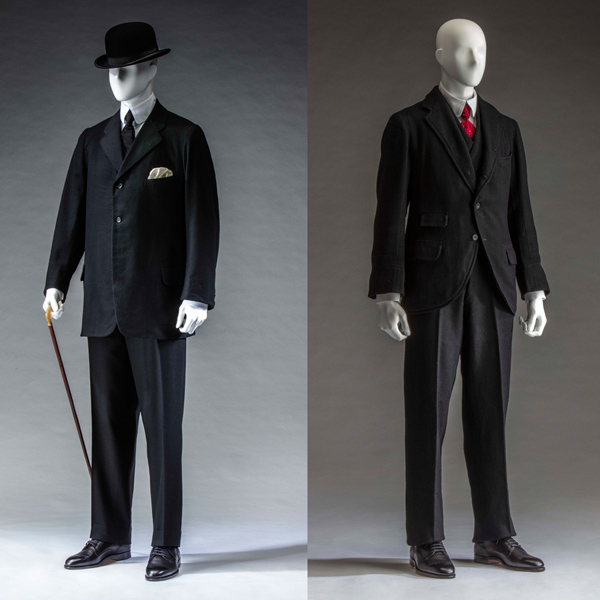 Suit (jacket, waistcoat, and trousers)
