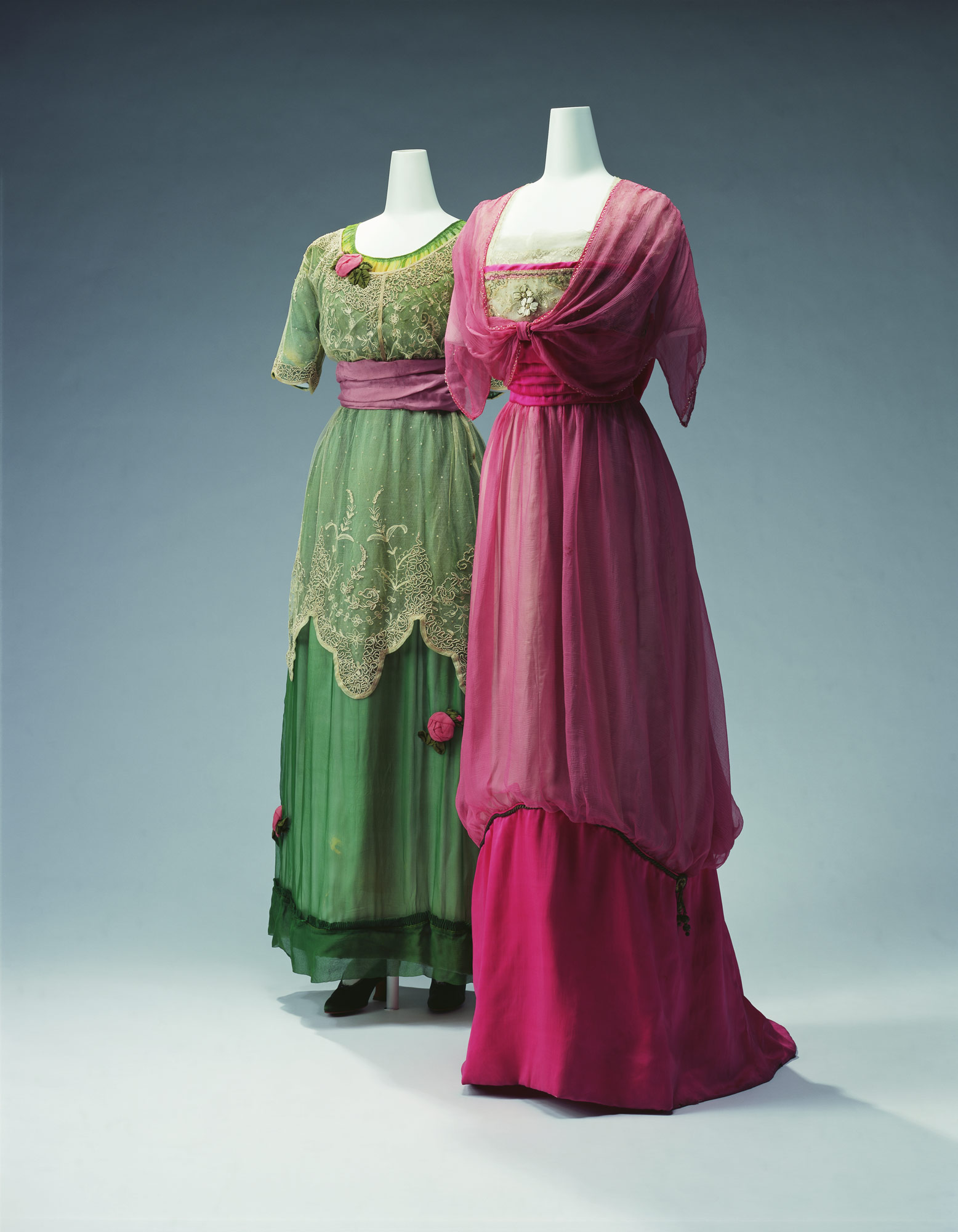 Evening Dress [Left] Evening Dress [Right]