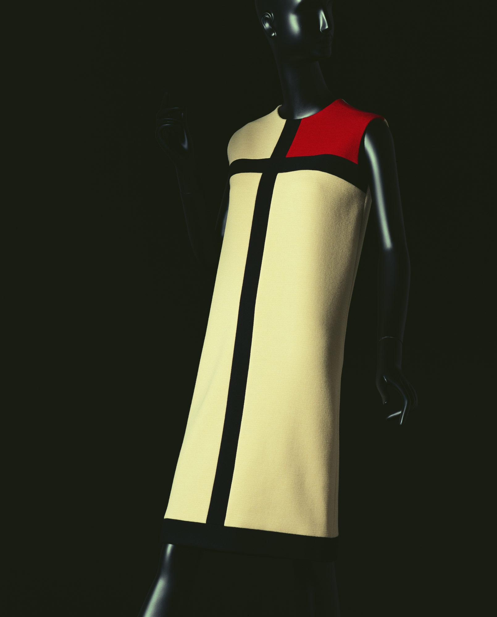 ドレス「モンドリアン」