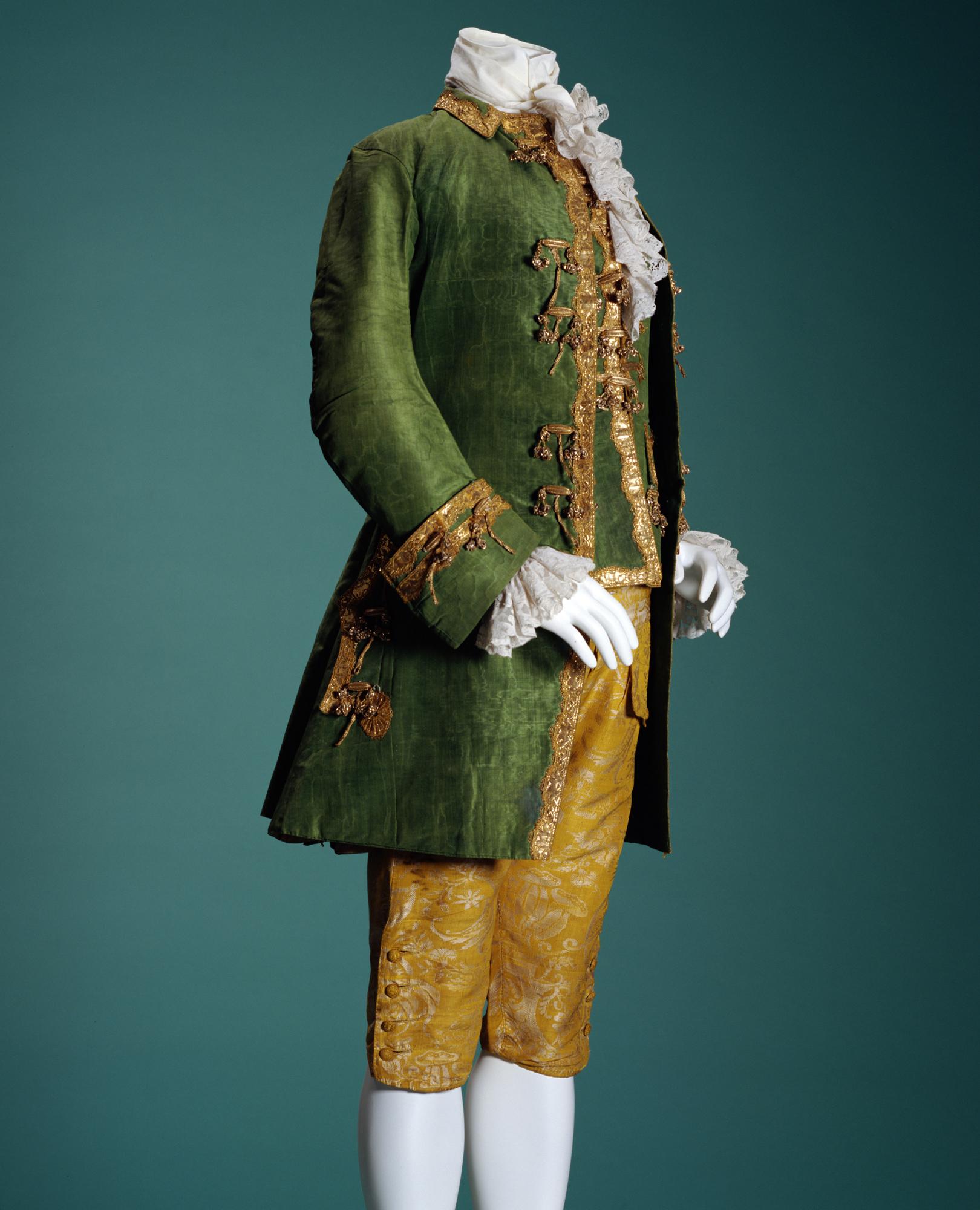 Men's suit (Jacket, Waistcoat, Breeches)