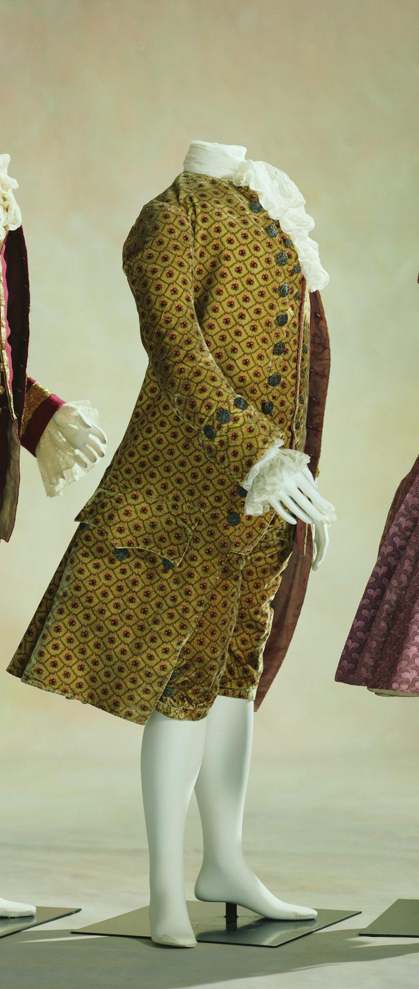 Man's Suit (Coat, Waistcoat, Breeches)